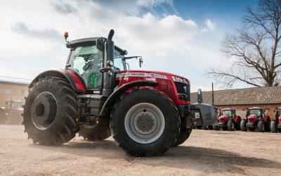 naprawa pomp wtryskowych do ciągników rolniczych - ciągnik